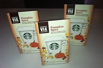 Starbucks Pumpkin Spice Latte - got mine at Save on Foods!