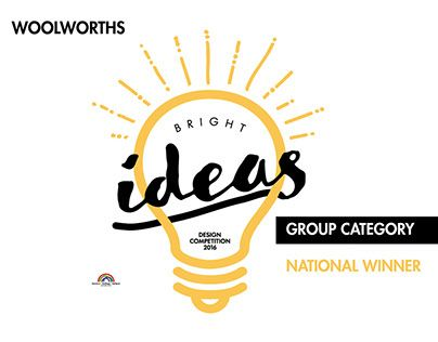 "Check out new work on my @Behance portfolio: ""Woolworths Bright Ideas - Design Competition 2016"" http://be.net/gallery/41226613/Woolworths-Bright-Ideas-Design-Competition-2016"