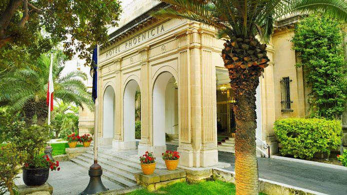 Hôtel Phoenicia Malta 5* à La Valette prix promo Week-end Malte Donatello dès 520,00 € TTC - Séjour Hôtel Phoenicia Malta 3 nuits, petit dejeuner buffe