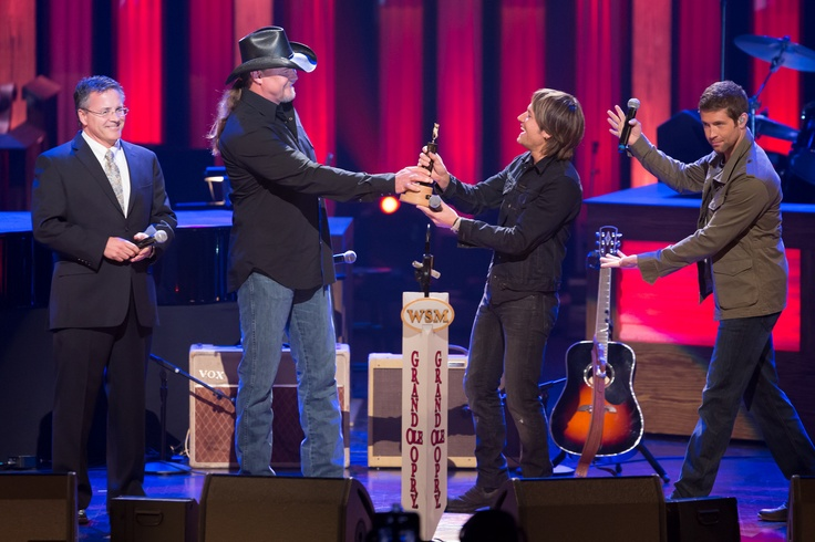 Keith Urban was inducted to the @Grand Ole Opry on April 21, 2012
