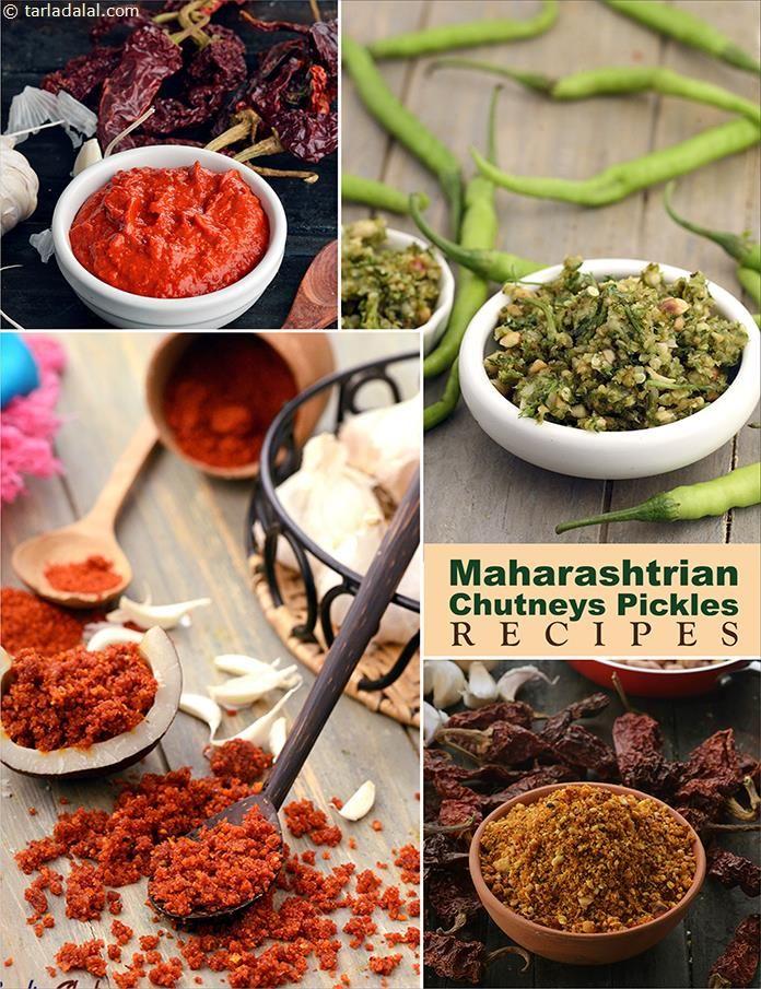 Maharashtrian Chutney Recipes, Maharashtrian  Pickle Recipes, Tarladalal.com   Page 1 of 2