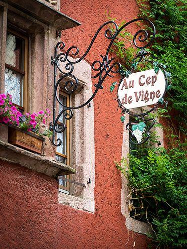 Au Cep de Vigne, Riquewihr, France...