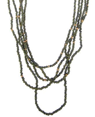 inspiration: seed bead necklace | DIY Projects: Jewelry | Pinterest