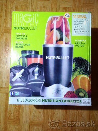 Smoothie Mixér Nutribullet 600W + príslušenstvo - 1