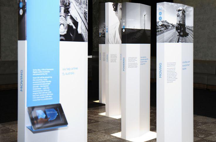 Exhibition - GE, simple, clean, modern