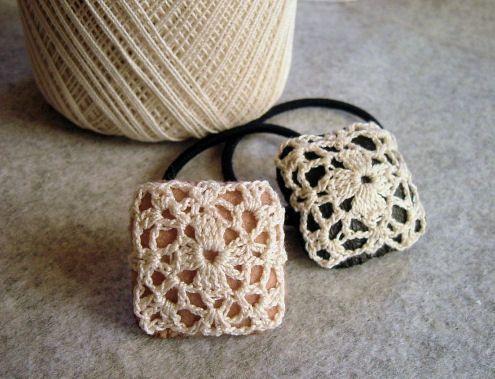 プチドイリーごむの作り方 編み物 編み物・手芸・ソーイング 作品カテゴリ アトリエ
