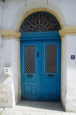 blue door Nicosia