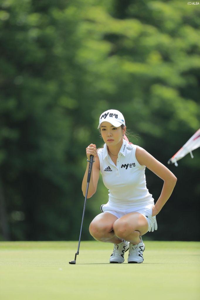 アン・シネ  セクシークイーン プロゴルファーの過激画像