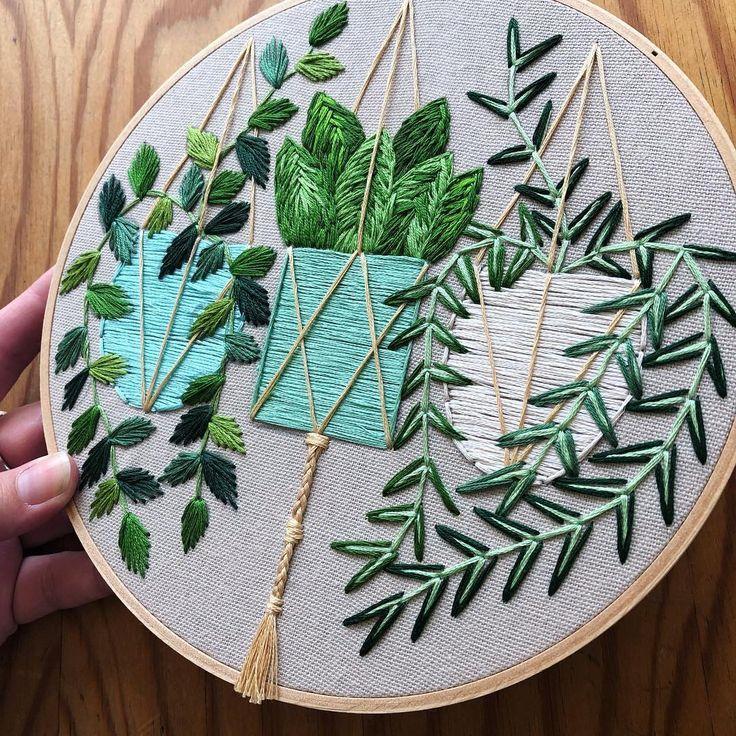 Embroidery by Liisa Mason