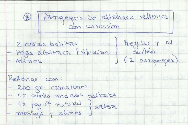 PANQUEQUES DE ALBAHACA RELLENOS CON CAMARÓN #SALADO #PLATOS #PANQUEQUE #CAMARONES