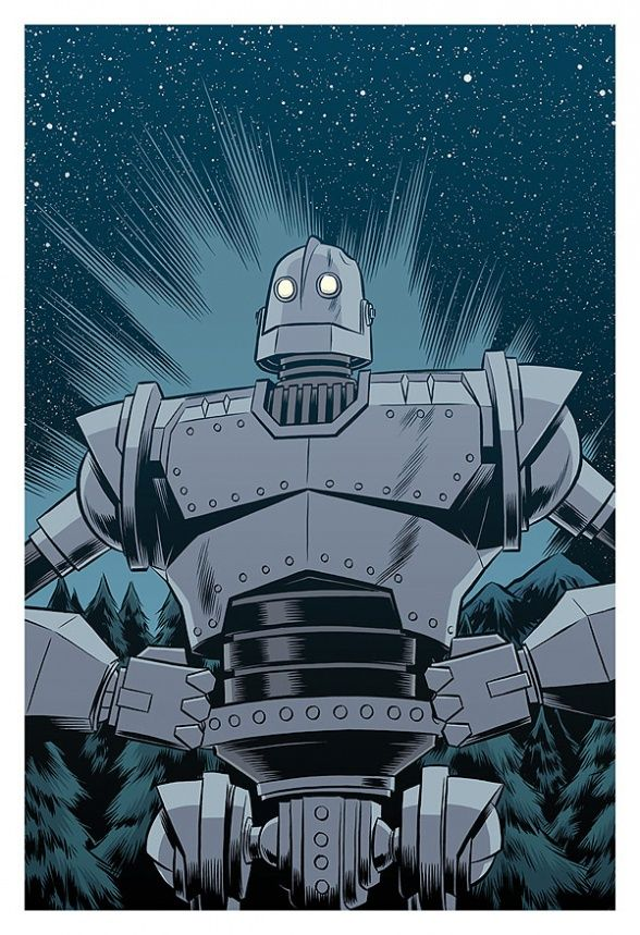 The Iron Giant by Robert Wilson IV 96/100