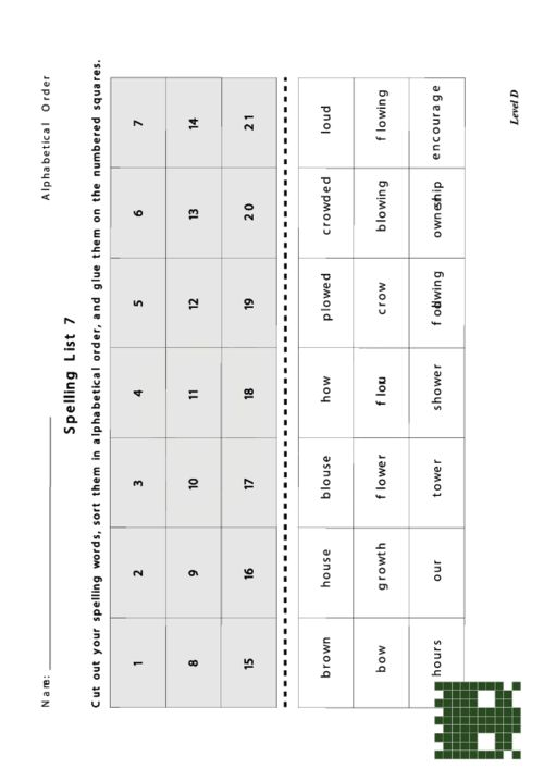 All Worksheets » Create Your Own Spelling Worksheets - Free ...