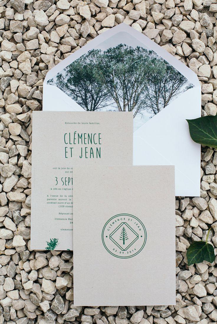 CLÉMENCE & JEAN – Ruban Collectif – Faire-part Mariage, Photographe Mariage, Fleuriste Mariage