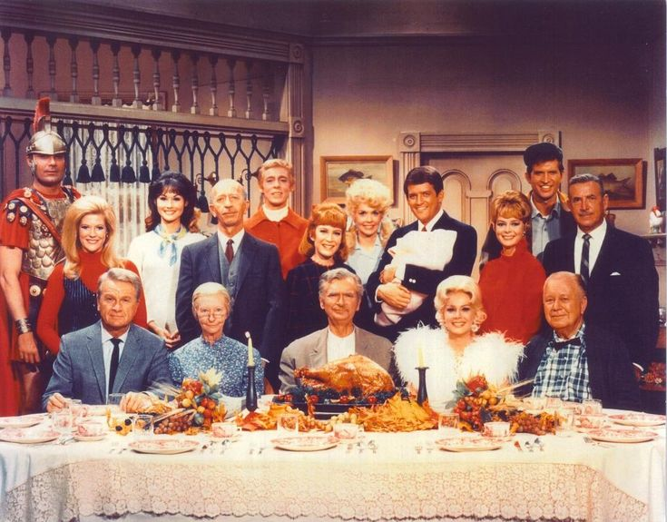Watch the Thanksgiving crossover episode featuring The Beverly Hillbillies, Petticoat Junction, and Green Acres. What do you think? What's your favorite Thanksgiving-themed episode from a TV series?