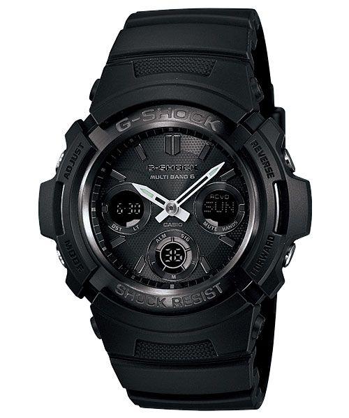 """[Обзор G-Shock] AWG-M100B-1AER - черный кусок """"угля"""""""