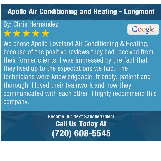 We Chose Apollo Loveland Air Conditionin Chiropractic Sports