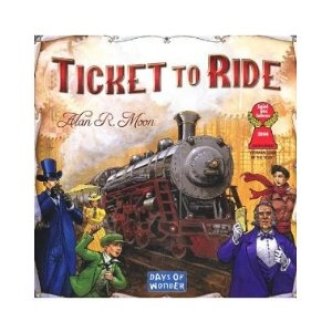 Ticket to Ride - The cross-country train adventure game.  Players collect cards that enable them to build railways linking distant cities.  Versions for other countries and expansions available with new rules and elements.