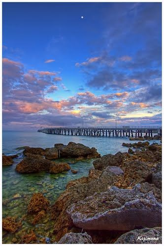 Tengan Pier, Okinawa, Japan.I want to go see this place one day.Please check out my website thanks. www.photopix.co.nz