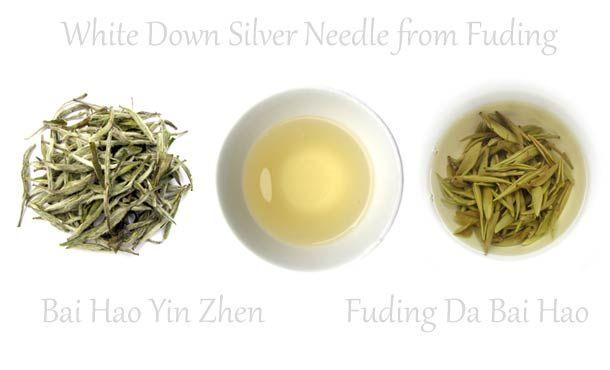 White Down Silver Needle Tea - Baihao Yinzhen