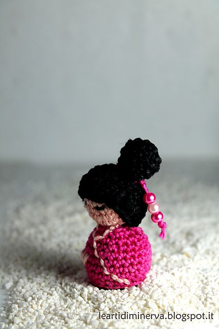 25 best Amigurumi Kokeshi, Fairy, Dancer dolls images on Pinterest - sp le f r k che