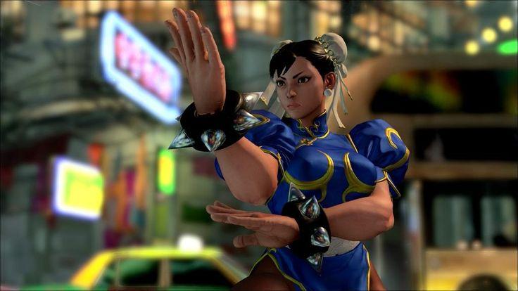 Chun-Li new look!!