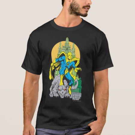 Dr. Fate & Invisible Tower T-Shirt - click/tap to personalize and buy