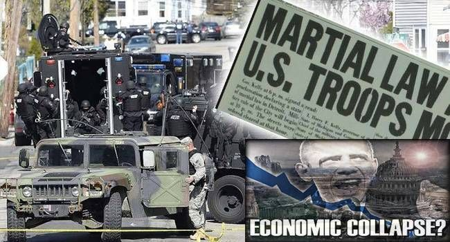 What Will Happen First, An Economic Collapse or Martial Law?