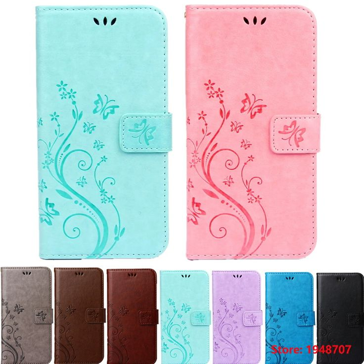 >> Click to Buy << Print Butterfly Fly Flower Leather Flip Book Wallet Cell Phone Case Soft Cover for iPhone iphine 4 4s 5 5s SE 6 6s Plus #Affiliate