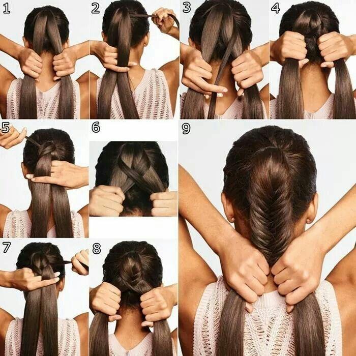 Las 25 mejores im genes sobre peinados en pinterest el - Como hacer peinados faciles y rapidos paso a paso ...