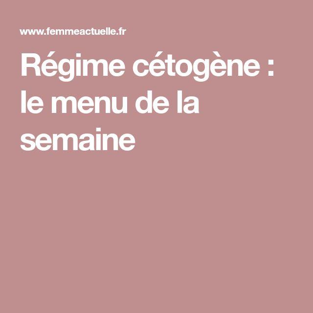 Régime cétogène : le menu de la semaine