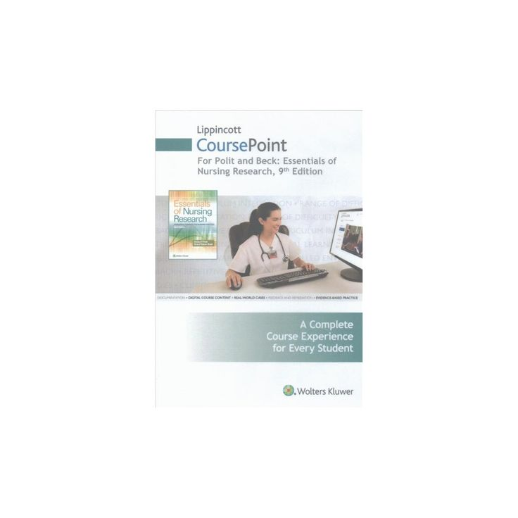 Lippincott Coursepoint for Polit, 12 Month Access Card : Essentials of Nursing Research (Hardcover)