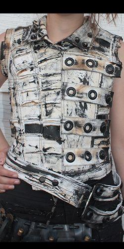 Post Apocalyptic Goth Underground Clothing by Sludgefaktory #rivethead #punk #cyberpunk