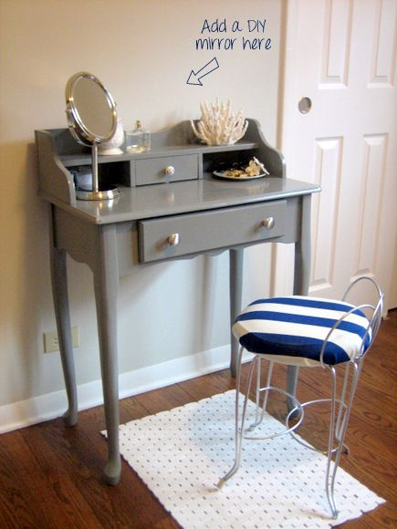 find this pin and more on vanity table ideas - Vanity Desk Ideas