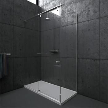 RailConcept: Stijvolle glazen douches met schuifdeur