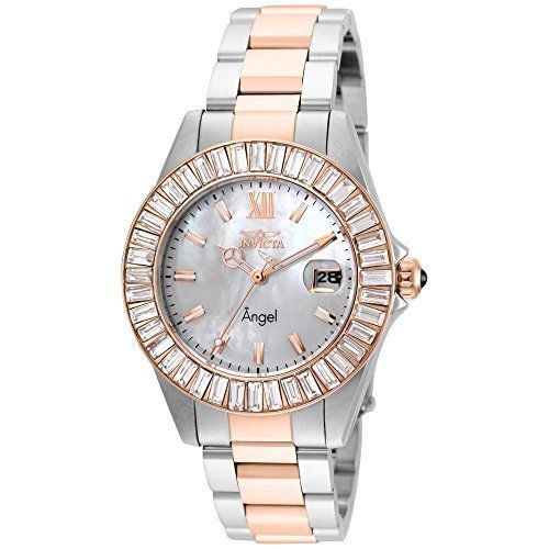 Model Number 22325. Patterns of ethereal energy connect time to a higher plane with the Invicta Angel Collection. Harmonizing a perfect balance between time and style, watches of graceful diversity comprise Angel.