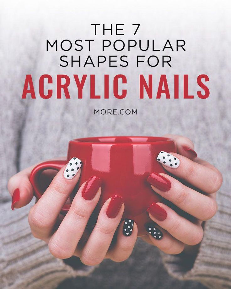 nail shapes short Polish #almondshapednails
