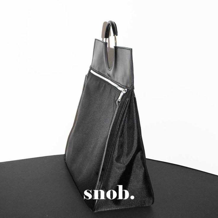 RING BAG leather and fabric https://www.facebook.com/snobdot www.snobdot.com