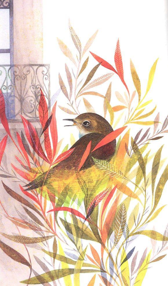 Con esta primavera hasta se escucha trinar a los pájaros de los libros. Y las aves de Antonio Rubio son poéticas, musicales y maravillosas, pues las ilustraciones de Rebeca Luciani son una explosió…