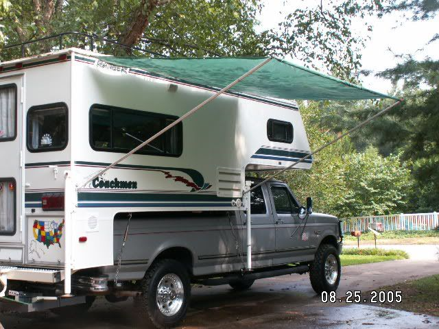 Rv Net Open Roads Forum Truck Campers Stretch S Awning