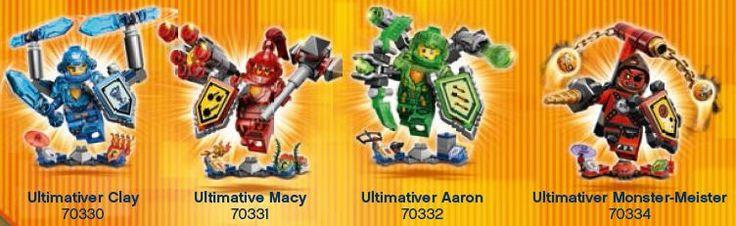 LEGO NEXO KNIGHTS Ritter