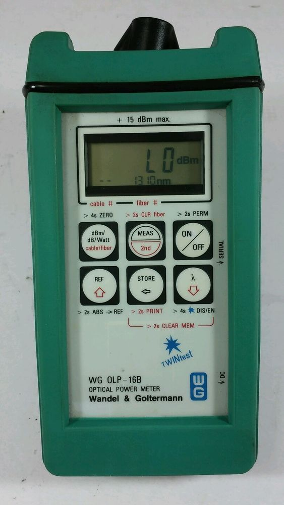 [Wandel&Goltermamn OLP-16B] Optical Power Meter (Made In Germany) #WandelGoltermamn