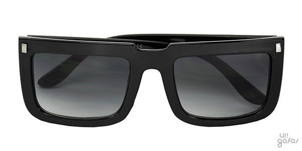 Óculos De Sol Retangular Grande Inspired Em Acetato    Ui! Gafas / Wizard - UI366