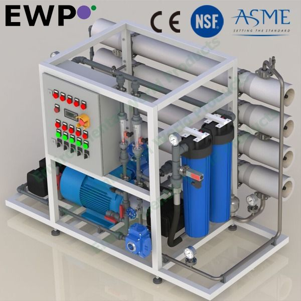 Hot Item Commercial Sea Water Desalination Ro Plant Reverse Osmosis Sysytems For 0 3 1 0 M3 Hr In 2020 Home Appliances Water Systems System