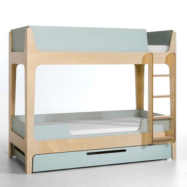 Les 25 meilleures id es de la cat gorie chambres lits superpos s sur pinter - Lits superposes ampm ...