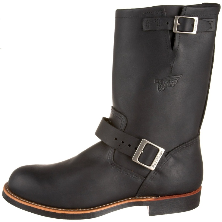 "Amazon.com: Red Wing Men's 11"" Engineer Boot: Shoes"
