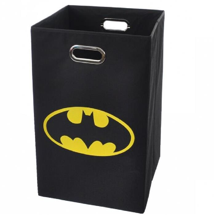 "Features:  -Batman collection.  -Natural metal eyelet handles for easy transport.  -Collapsible.  -Cardboard insert included.  Primary Material: -Fabric. Dimensions:  -Cardboard insert size: 0.1"".  Ov                                                                                                                                                     More"