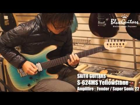 Blue Guitars - SAITO GUITARS / Model Lineup - S-622(SSH),S-622(2H),S-624MS,S-724MS - Tronnixx in Stock - http://www.amazon.com/dp/B015MQEF2K - http://audio.tronnixx.com/uncategorized/blue-guitars-saito-guitars-model-lineup-s-622sshs-6222hs-624mss-724ms/