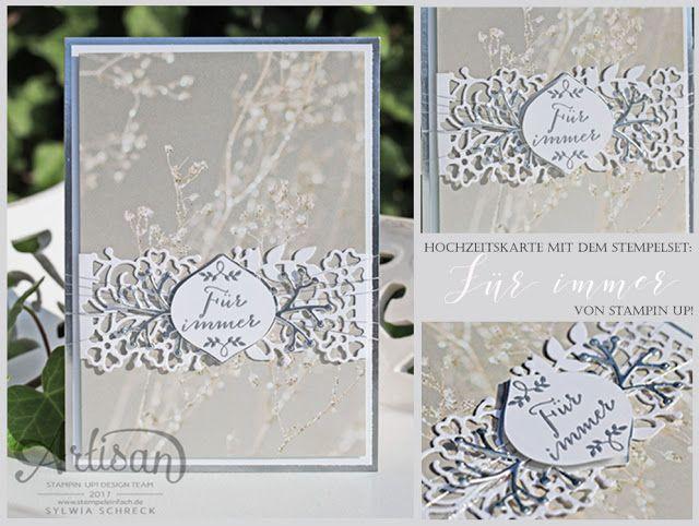 Hochzeitskarte - Für immer von Stampin Up bei stempel einfach