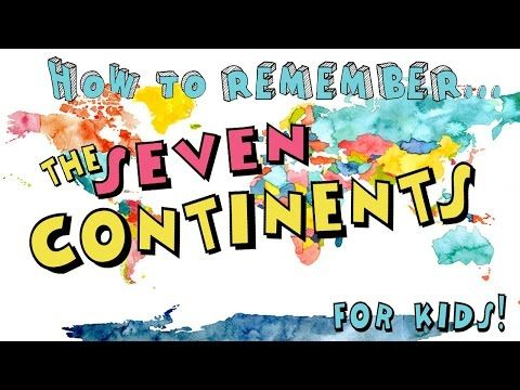 The Continents Video - My kids LOVED this!  They thought it was hilarious and begged to watch it again!