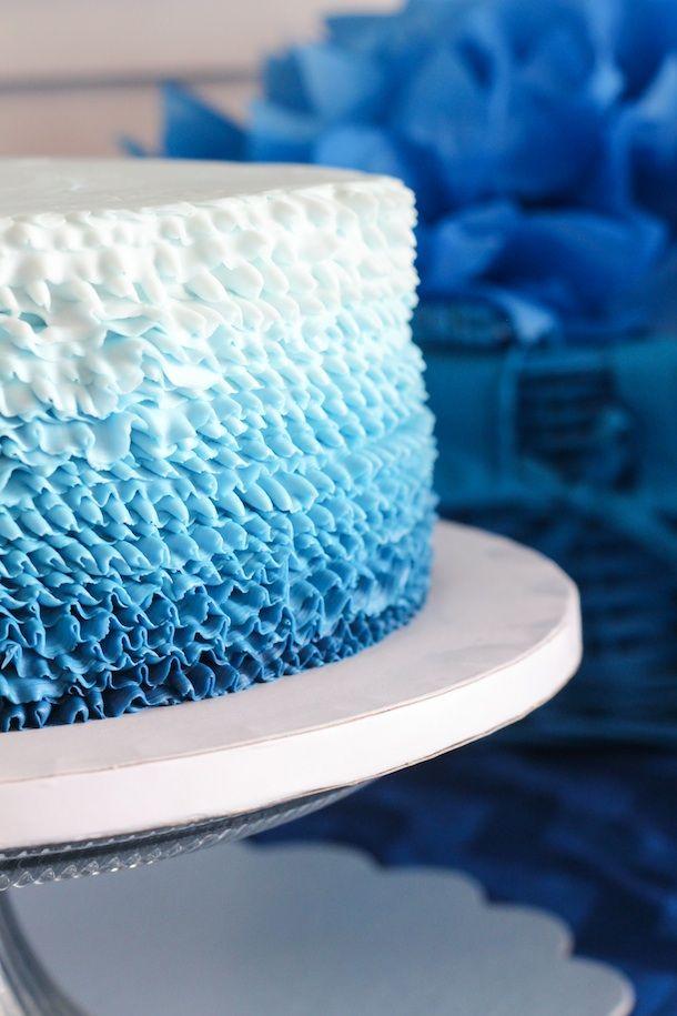 Blue Ombre Birthday @Joshua Swodeck #40th 15/40